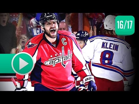 New York Rangers vs Washington Capitals. NHL Highlights. April 5th, 2017. (HD)