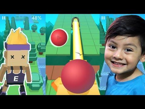 Rolling Sky Gameplay | Bolita en la Nube | Juego para niños