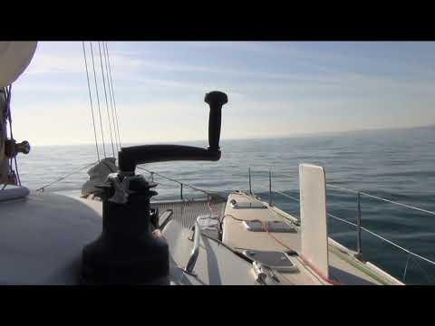 Zeebrugge Coruna Solo sailing