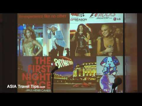Singapore Tourism Board - Press Conference @ ITB Asia 2009 - Part 1 of 4