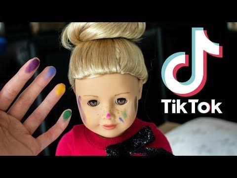 I Recreated Famous Tiktoks Using My Dolls