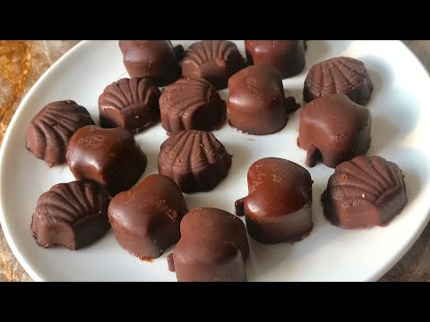 HOMEMADE CHOCOLATES RECIPE 4 ingredients original chocolate recipe