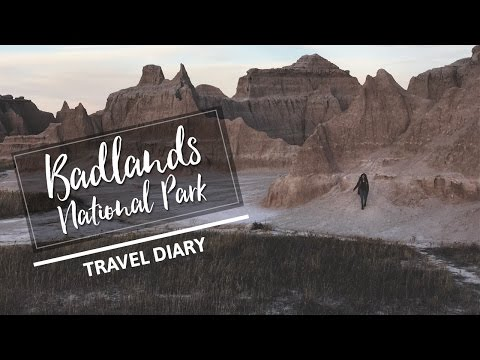 BADLANDS NATIONAL PARK | TRAVEL DIARY + THAT TIME WE TOTALLED OUR CAR!!!
