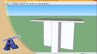 Curso de SketchUp - Aula 03/20 - Módulo Básico - Autocriativo