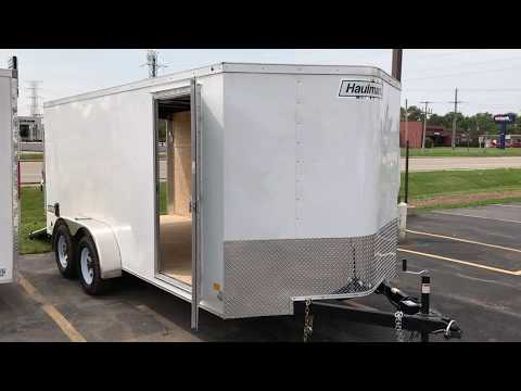 7x16 Haulmark Enclosed Trailer