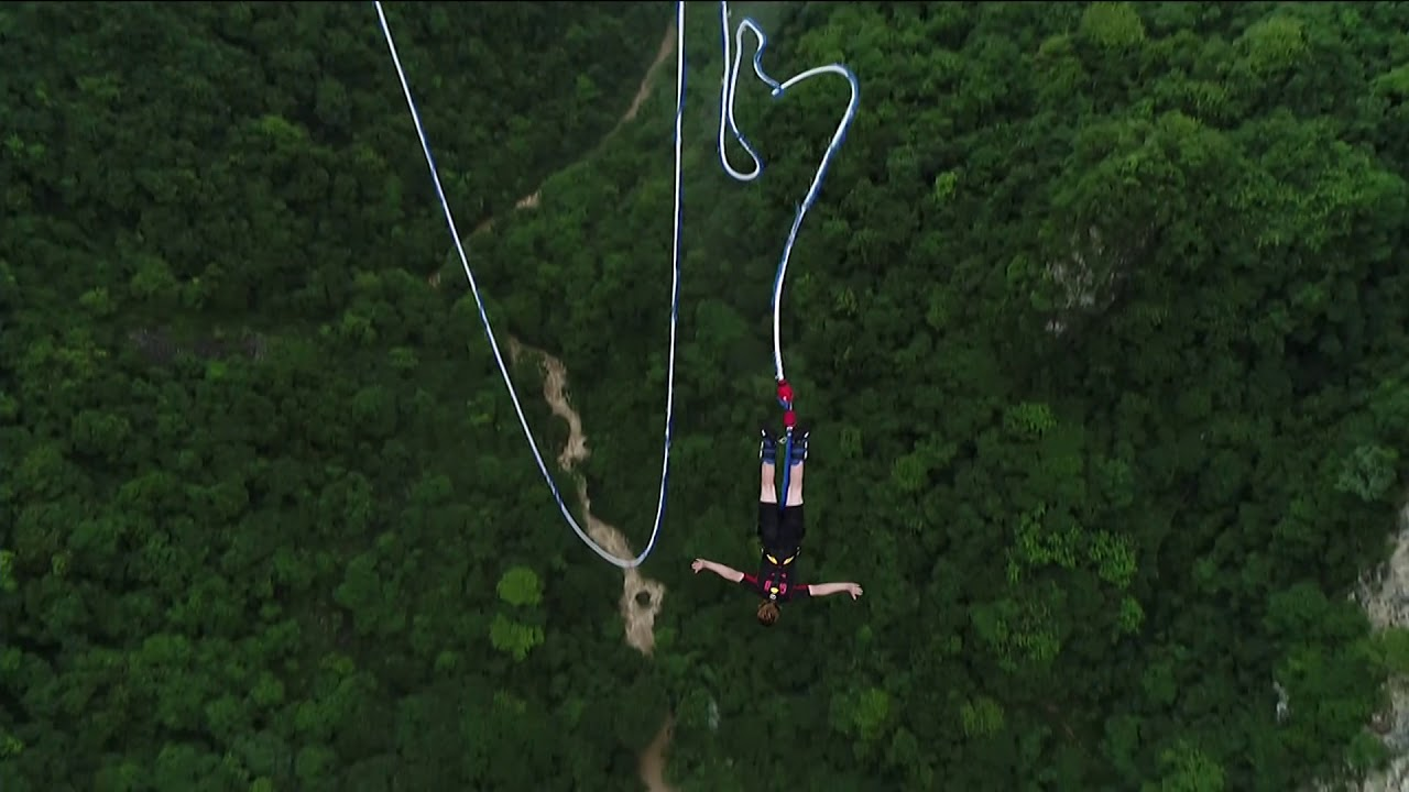 Bungee by the foot