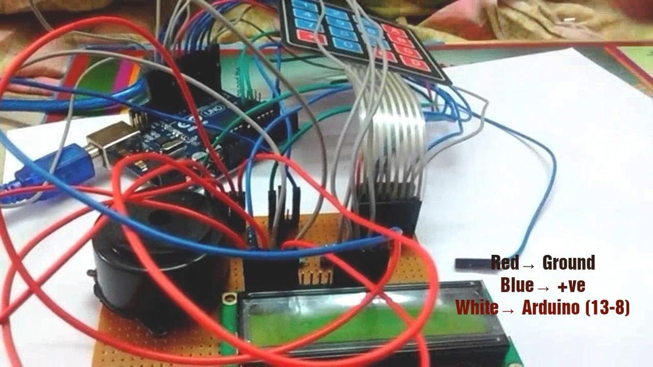 Password Based Doorlock System Using Arduino|| Mini Project