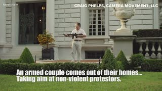 Missouri Couple Pulls Guns On Approaching Protesters