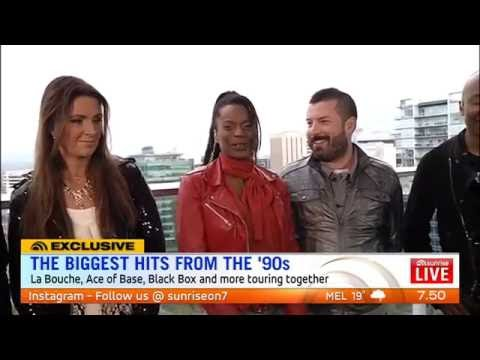 90s Mania - Sunrise interview Aug 2016 - Ace Of Base, Haddaway, Black Box, La Bouche