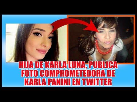 HIJA DE KARLA LUNA PUBLICA FOTO C0MPROM3TEDOR4 DE KARLA PANINI (Q.E.P.D)