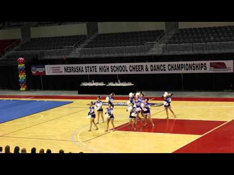 Omaha Central High School Dance Team – 2015 – 2016 State Competition