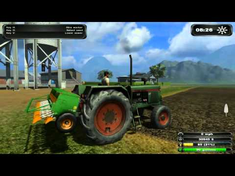 Thumbnail: Live Stream - Farming Simulator 2011 - 001