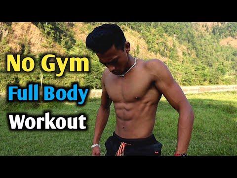 No Gym Full Body Workout | Bodyweight Full Body Workout | ANISH FITNESS