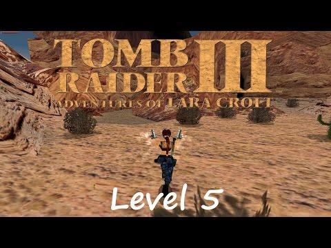 Tomb Raider 3 Walkthrough - Level 5: Nevada Desert