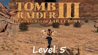 Tomb Raider 3 Walkthrough - Level 5: Nevada Desert