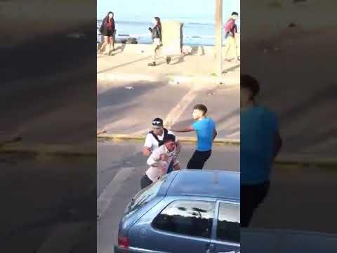Brutal pelea entre argentinos y uruguayos en Piriápolis