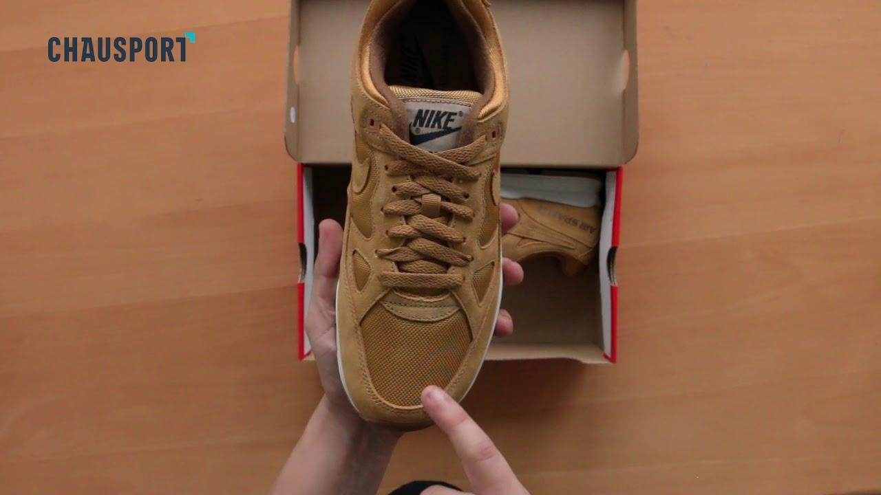 Unboxing : Nike Air Span II Wheat
