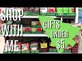 WALMART SHOP WITH ME | GIFTS UNDER $5