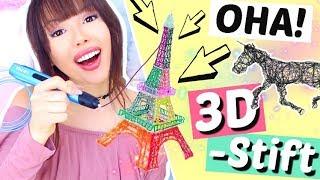 Heftiger 3D Stift 😳 Was man alles damit machen kann! | ViktoriaSarina