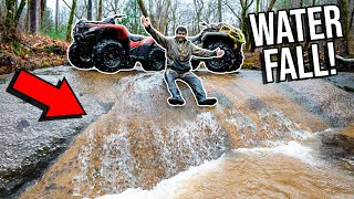 Finding Ancient MUD HOLES on FOURWHEELERS?!