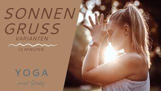 Sonnengruß Varianten | Yoga Morgenroutine | 15 Minuten Yoga