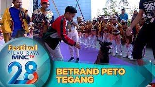 Betrand Peto Tegang Shake Hand Sama Billy & Frosty Dog Dance - Festival Kilau Raya 28