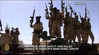 Inside Story - Darfur conflict: A rebel leader