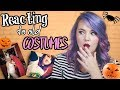 Reacting to Old Halloween Costumes!