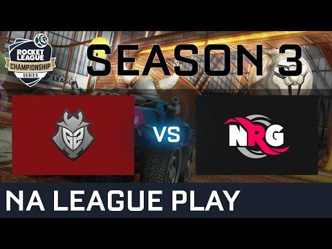 G2 Esports vs NRG Esports NA League Play - RLCS S3