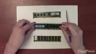 Как выглядит  оперативная память для компьютера