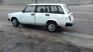 Купили машину LADA (ВАЗ) 2104.  Заводим и едем домой.  Удачная покупка.