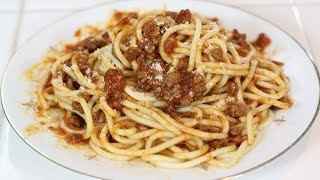How To Make Spaghetti with Prego Sauce!
