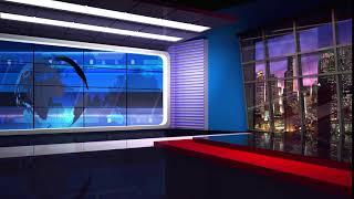 background tv studio virtual screen backgrounds window footage globe loop shutterstock seamless program