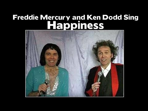 Ken Dodd and Freddie Mercury Sing - Happiness