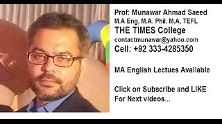 Donne, Sunne Rising, Munawar ahmad saeed, MA english Literature, english literature