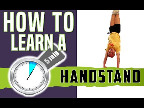 HOW TO DO A HANDSTAND - LEARN THE BASIC HANDSTAND FOR BEGINNERS - 동영상