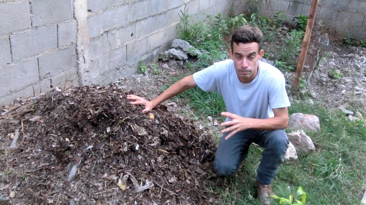 Como hacer abono organico o compostaje youtube - Hacer abono organico ...