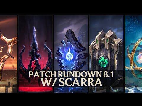 Patch Rundown 8.1 w/ Scarra