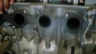 Water out of Piston - Yamaha