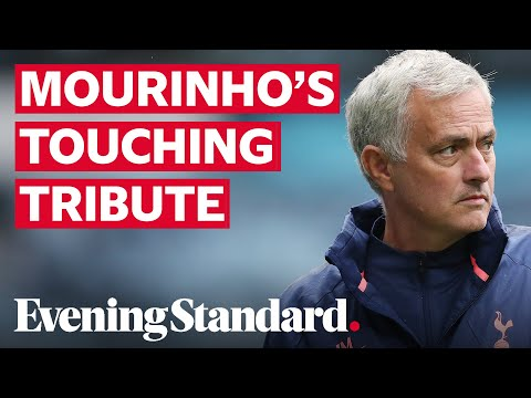 Tottenham Boss Jose Mourinho Shares Heartwarming Moment With Macedonian Journalist
