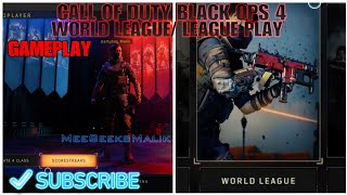 COD: BO4 League Play Gameplay First Look BLACK OPS 4 WORLD LEAGUE