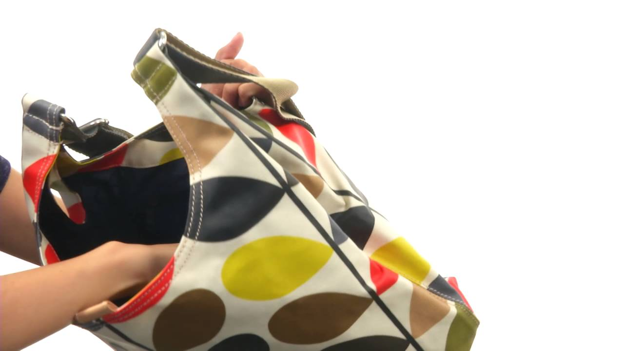 Orla Kiely - Matt Laminated Classic Multi Stem Midi Sling Bag SKU 8556387 713af2c60f3d1