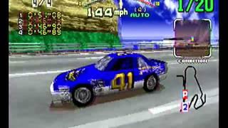 Daytona USA (Sega Saturn) Full Playthrough