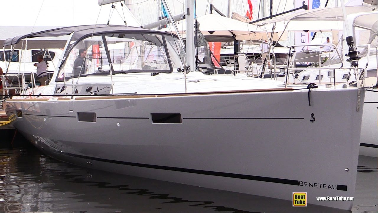 2017 Beneteau Oceanis 45 Yacht Deck And Interior Walkaround 2016 Annapolis Sail Boat Show