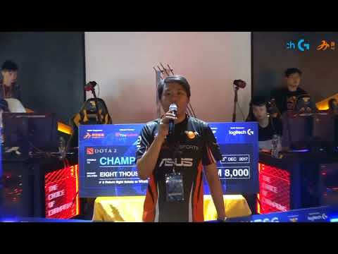 WORLD Electronic Sports Games(WESG) Dota2 Malaysia Qualifier Semi Final 2