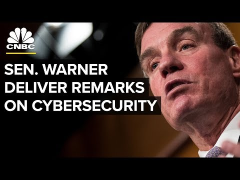 Senator Warner Delivers Address on Cybersecurity Policy - Dec. 7, 2018