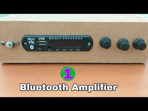 Amplifier ( Part-1 ) - Make new amplifier at home with USB and Bluetooth