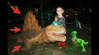 ДИНОЗАВРЫ ДЛЯ ДЕТЕЙ про динозавров Большие ИГРУШКИ