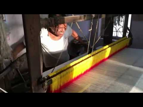 HANDLOOM IS THE REAL SOLUTION FOR        POVERTY AND UNEMPLOYMENT