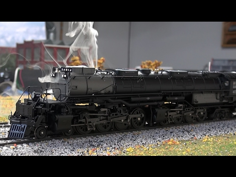 Review: Broadway Limited Big Boy w/Steaming Whistle! Sound! BLI